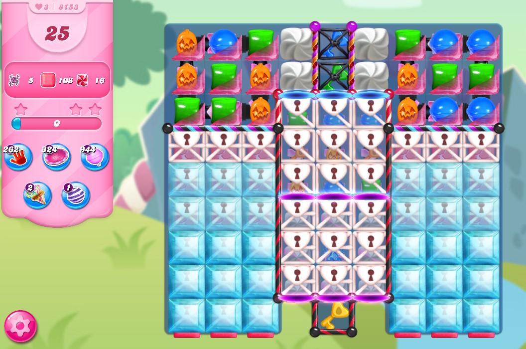 Candy Crush Saga level 8153