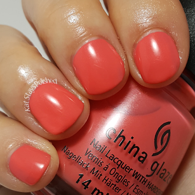 China Glaze Seas and Greetings - Warm Wishes | Kat Stays Polished