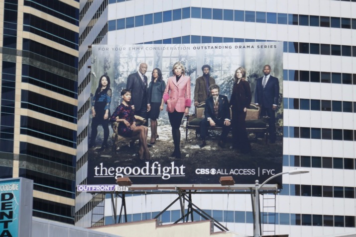 Good Fight season 3 Emmy FYC billboard