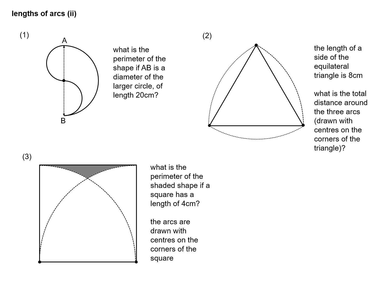 Median Don Steward Mathematics Teaching Arc Length And