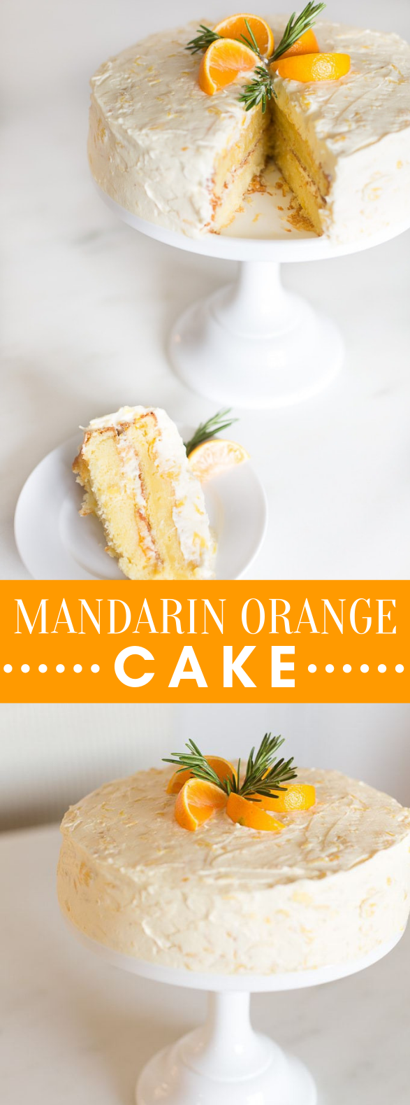 MANDARIN ORANGE CAKE #desserts #baking