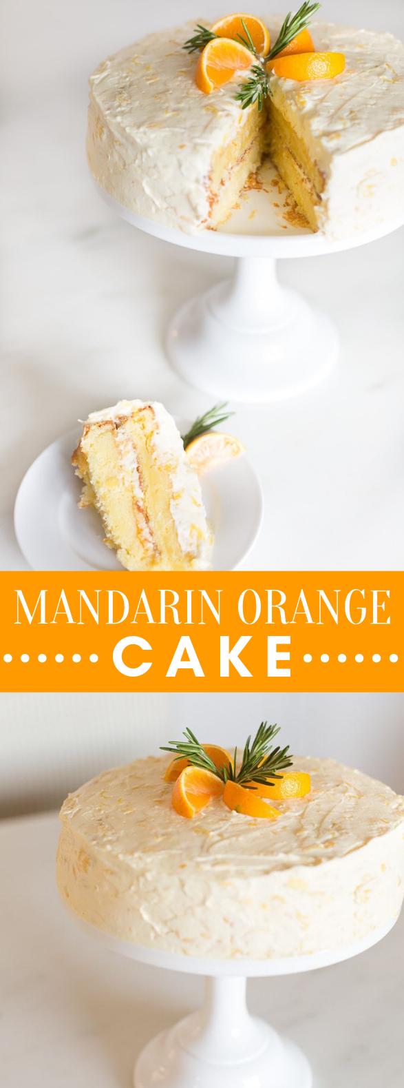 MANDARIN ORANGE CAKE #desserts #baking