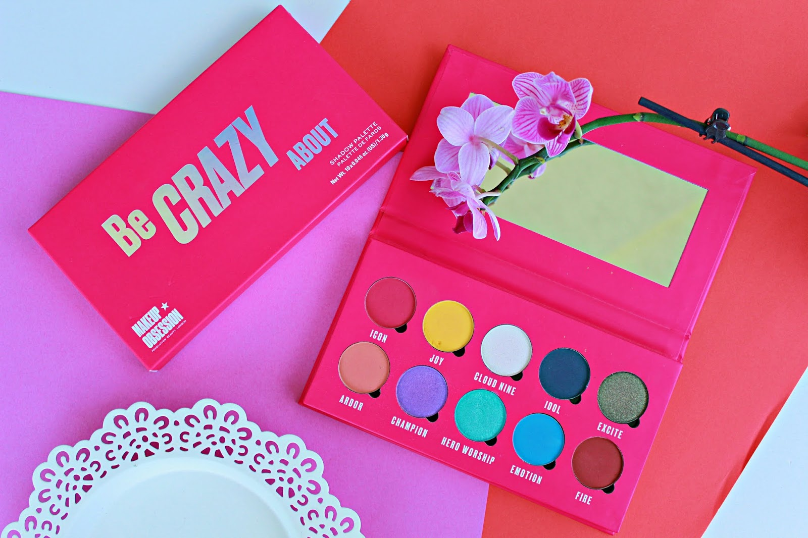 paleta cieni Makeup Obsession Be Crazy About.