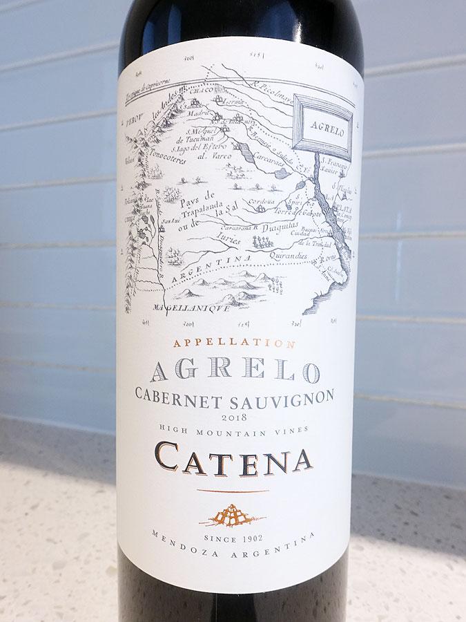 Catena Appellation Agrelo Cabernet Sauvignon 2018 (92 pts)