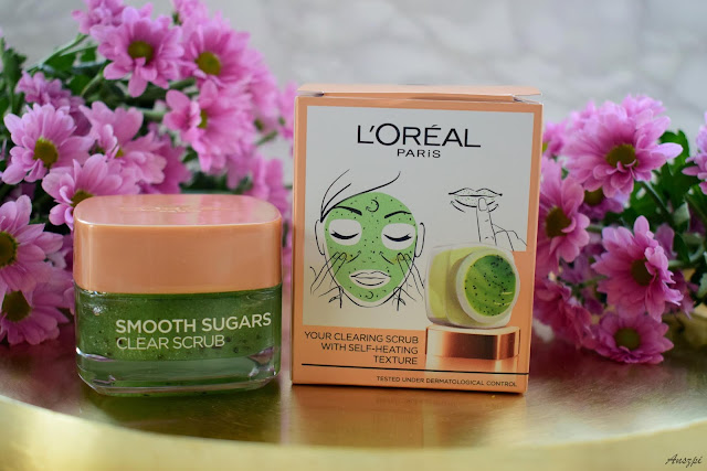 Cukrowy peeling do twarzy Smooth Sugars Clear Scrub L'oreal Paris