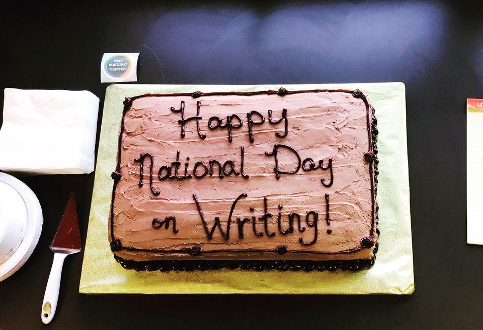 National Day on Writing Wishes Beautiful Image