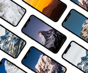 mountain wallpaper phone