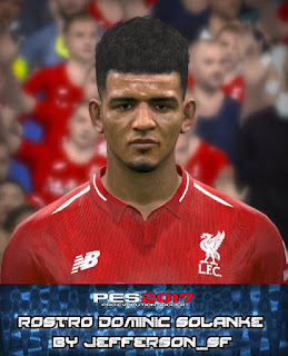 PES 2017 Faces Dominic Solanke by FaceEditor Jefferson_SF