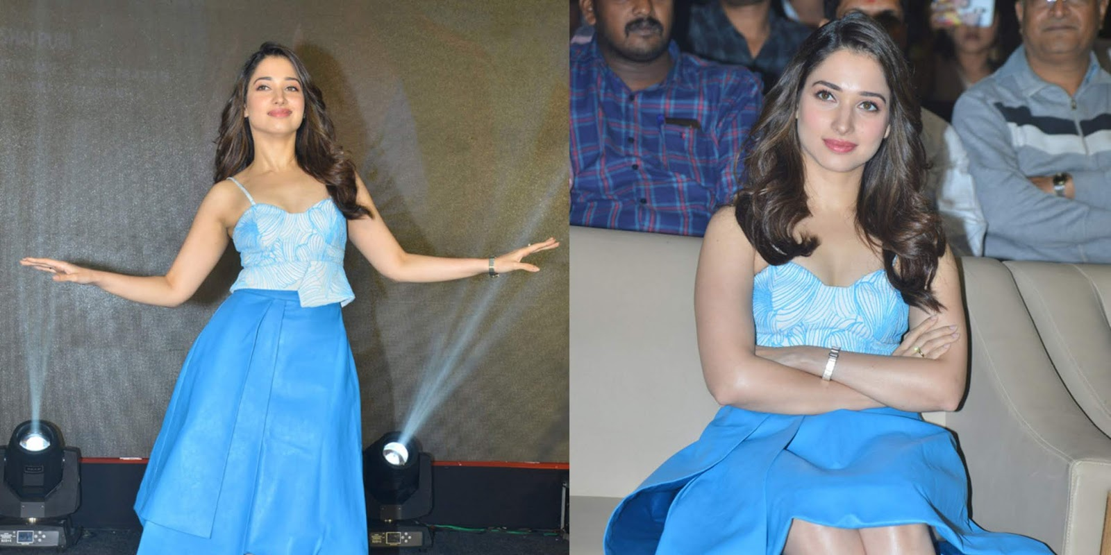 Tamannaah Latest Photo Shoot Stills At Next Enti Pre Release Event Photos!