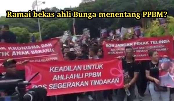 [Video] Ramai bekas ahli Bunga menentang PPBM?