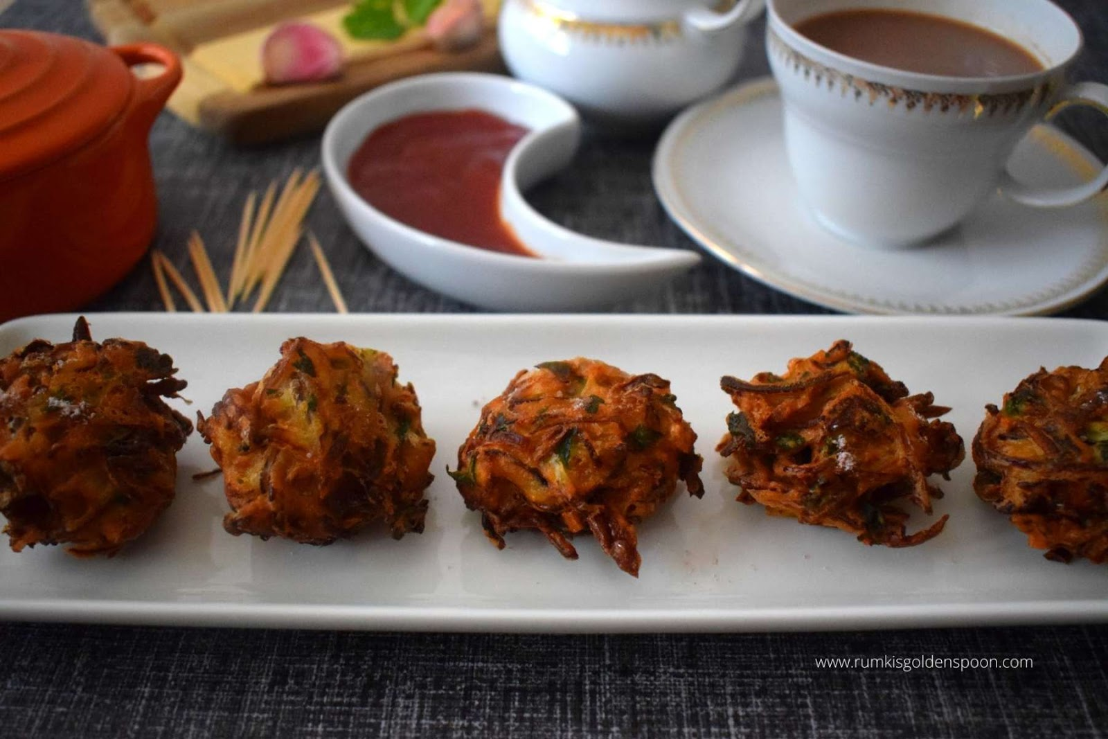Cabbage Pakoda Recipe Cabbage Fritters Recipe For Pakoda Rumki S Golden Spoon
