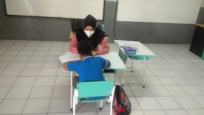 Photo Dokumentasi Kegiatan Psikotes PPDB SD Ar Rafi' Drajat 2021
