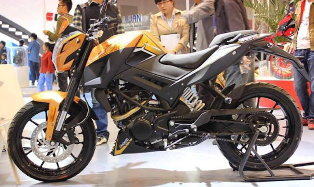 Jangan Kaget Jika 7 Motor Sport Ini Punya Kembaran di China ! - Jiajue C8 Tomahawk