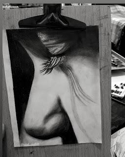رسم بالفحم رسومات بالفحم الرسم بالفحم رسم فحم طريقة الرسم بالفحم كيفية الرسم بالفحم