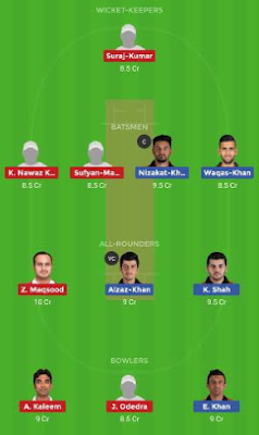 HK vs OMN dream 11 team | OMN vs HK