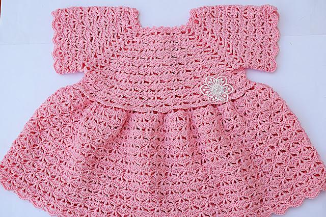 2 - Crochet Imagen Falda para bolero y canesú a crochet muy fácil y sencillo