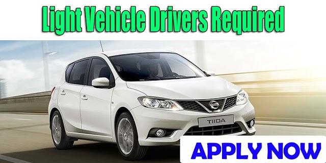 Light Vehicle Drivers Required