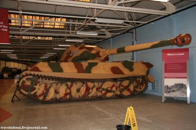 Музей Танков Мировых войн в Бовингтоне.Англия