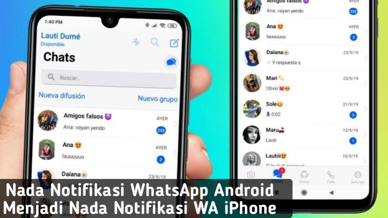 Cara Ubah Nada Notifikasi WhatsApp Android Seperti iPhone