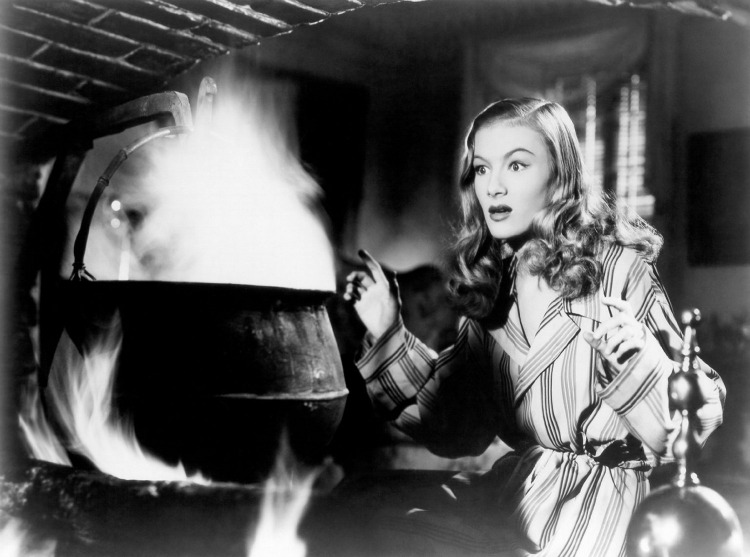 A Vintage Nerd I Married A Witch Classic Cinema Old Hollywood Films Veronica Lake