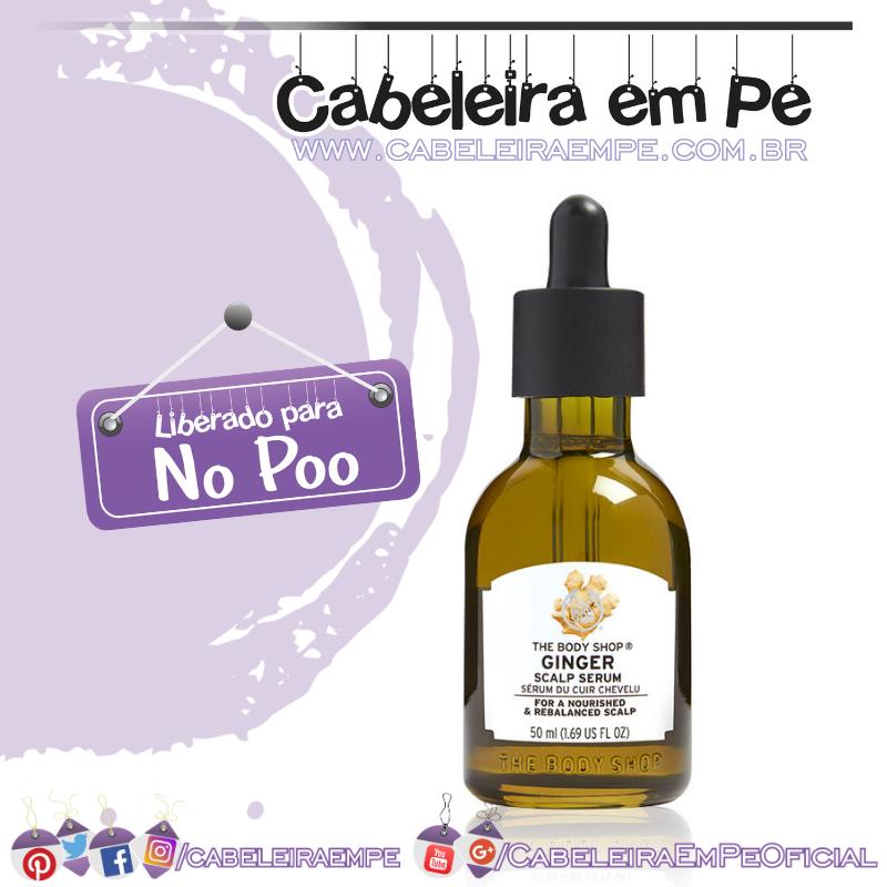 Sérum Capilar de Gengibre - The Body Shop (No Poo)