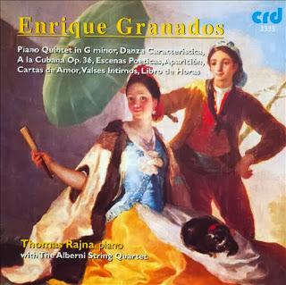 Granados: Piano Quintet in G Minor, Danza Caracteristica, A La Cubana Op.36