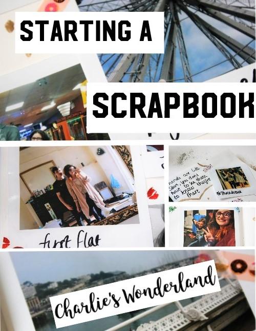Charlies Wonderland My Favourite Memories Starting A Scrapbook