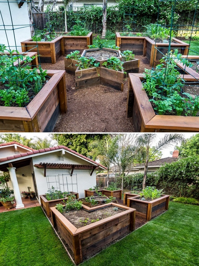 Creative DIY Ideas to Build A U-Shaped Raised Garden Bed ...