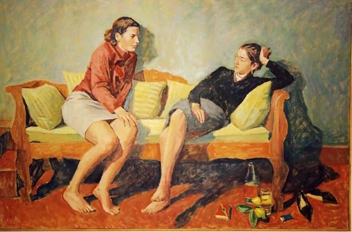 Греческий художник. Pavlos Samios