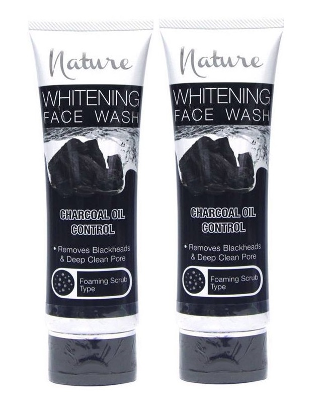 Pack Of 2 - Nature Charcoal Oil Control Face Wash 100 ml