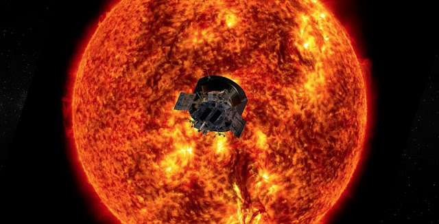 NASA's Parker Solar Probe mission has traveled closer to the Sun than any human-made object. (Image courtesy of NASA/Johns Hopkins APL)
