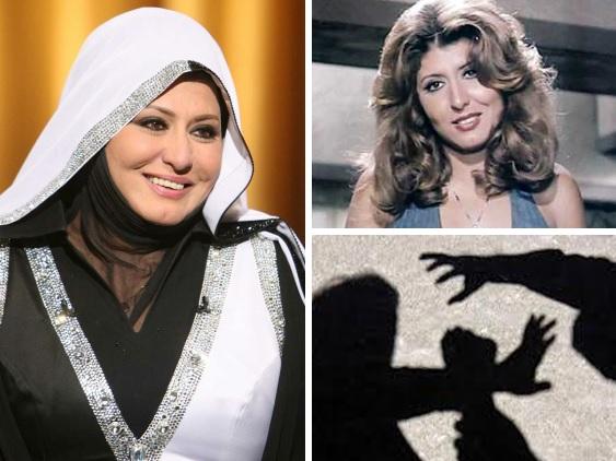 بعد خلعها الحجاب.. شاهدوا كيف حضرت سهير رمزي إلى عزاء والدة صديقها وهكذا ظهرت !