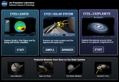 Nasa Eyes Visualization