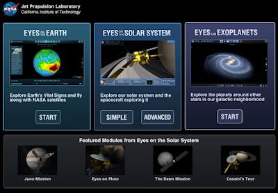 Nasa Eyes Visualization