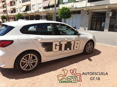 Nuevo coche Autoescuela GT.18 BMW serie 1