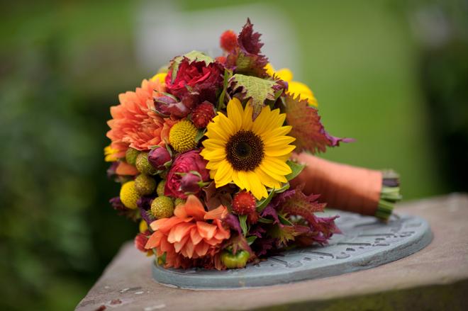 Fall Outdoor Wedding Rustic Elegance DIY Details