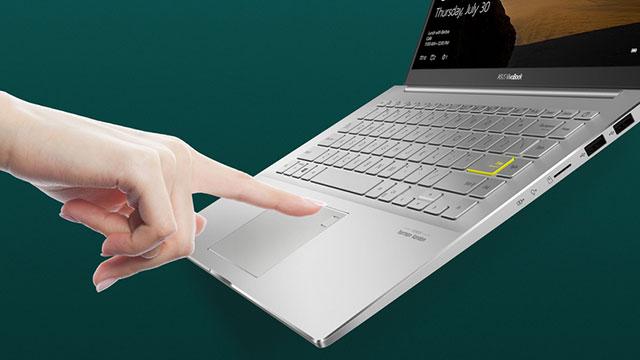 Fingerprint VivoBook S14