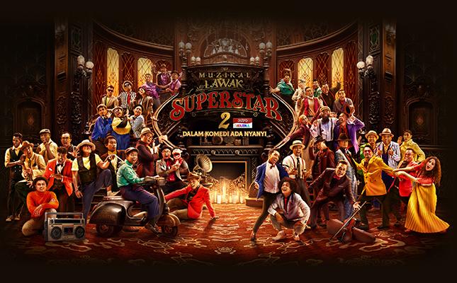 Saksikan Program Muzikal Lawak Superstar 2 Tahun 2020 Di Astro Warna