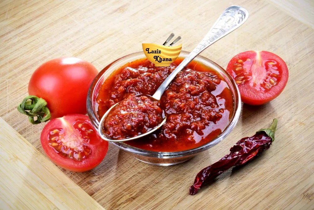 Tomato Chutney Recipe in Hindi