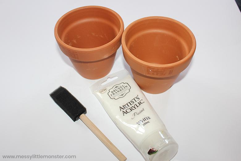 clay pot craft