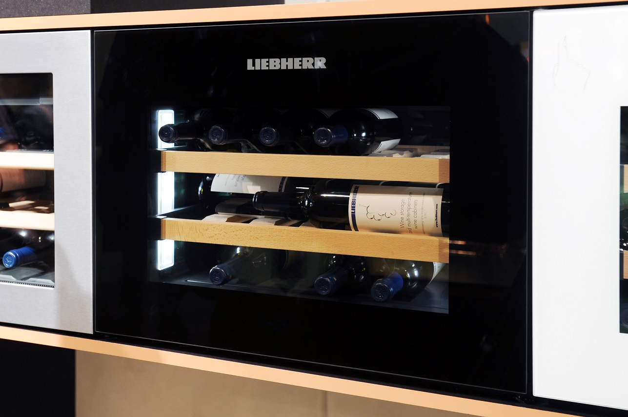 Liebherr Wine Fridge, hello peagreen