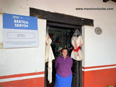 Bertha Servin store at the House of the Eleven Patios in Pátzcuaro, Michoacan