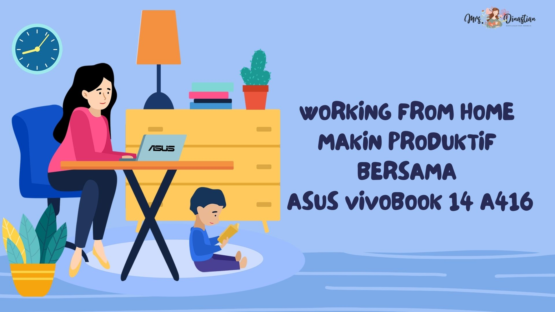 Produktif Bersama Asus Vivobook 14 A416