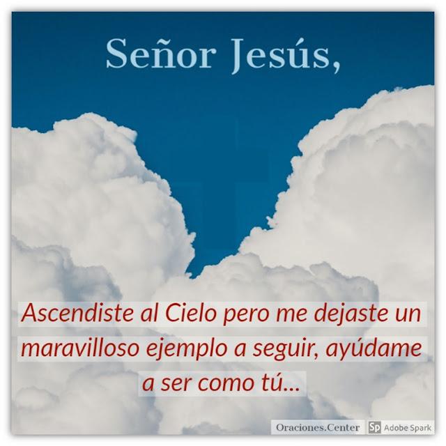 Oración al Señor Jesús