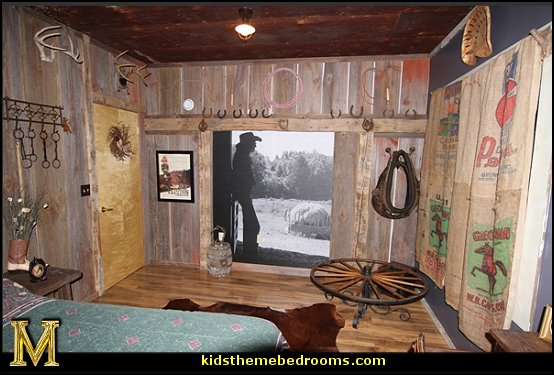 cowboy theme bedrooms - rustic western style decorating ideas - rustic decor - cowboy decor - Cowboy Bedding Western bedroom decor - horse decor - cowboy wall murals horse wall murals