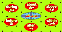 حروف الجرّ في اللغة الانجليزية prepositions
