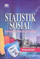 Judul Buku : STATISTIK SOSIAL Teori dan Aplikasi Program SPSS