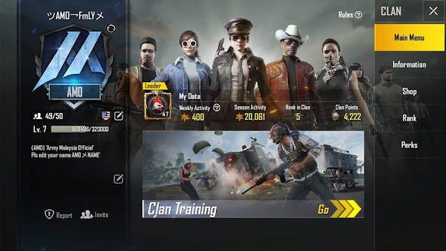 Join AMO (Army Malaysia Official)
