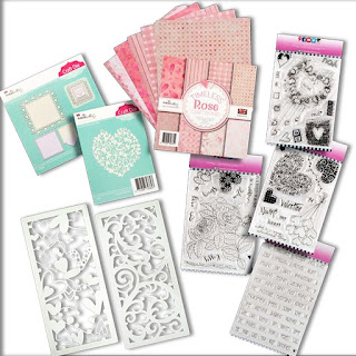 Polkadoodles Timeless Rose full collection