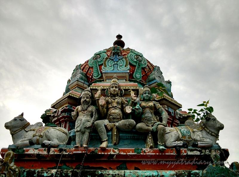 Lord Shiva as Kapaleeshwar, Chennai, Tamil Nadu